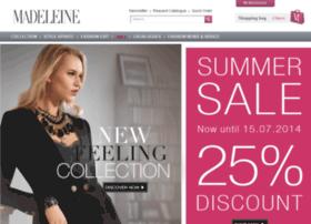 Madeleine-fashion.nl Actiecode voor 10 procent korting